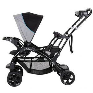 baby trend double sit n stand stroller 2