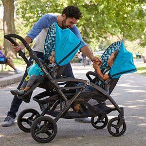 contours elite tandem double stroller 2