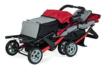 foundations-trio-sport-tandem-stroller-red
