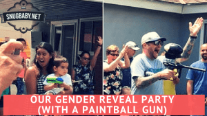 Our Fun Gender Reveal Party Idea