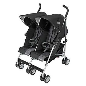 Maclaren Twin Triumph, Black/Charcoal