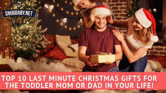 Last Minute Christmas Gift Ideas for Young Parents