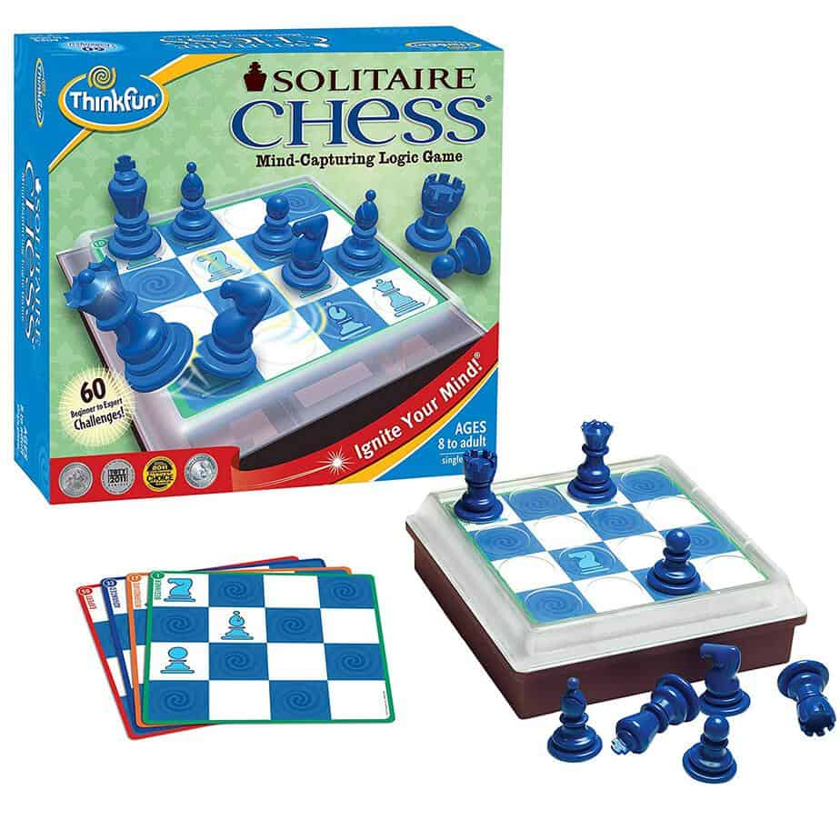 Chess, a game that teaches strategy and tactics