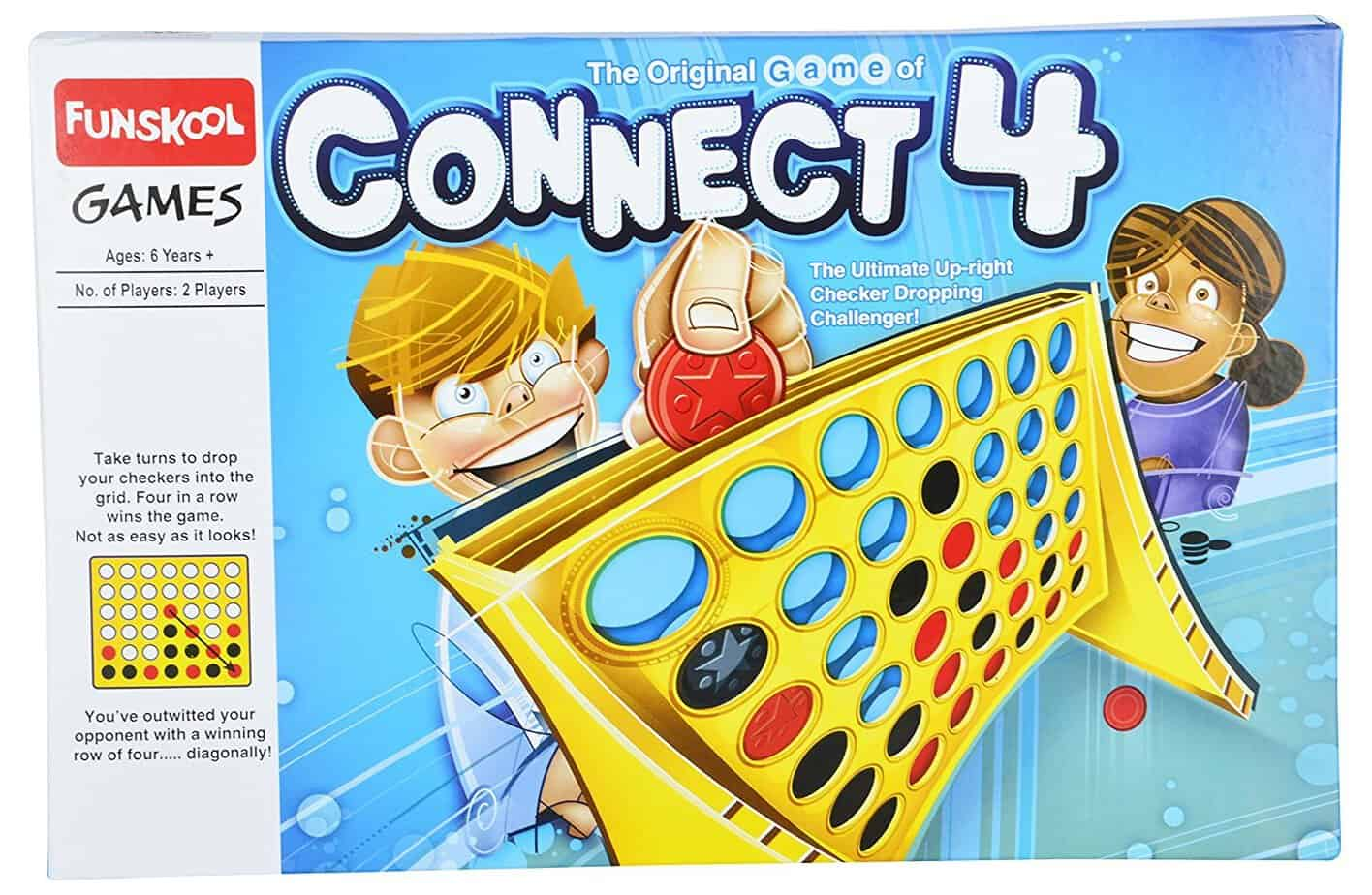 Connect 4, have fun while you drop discs