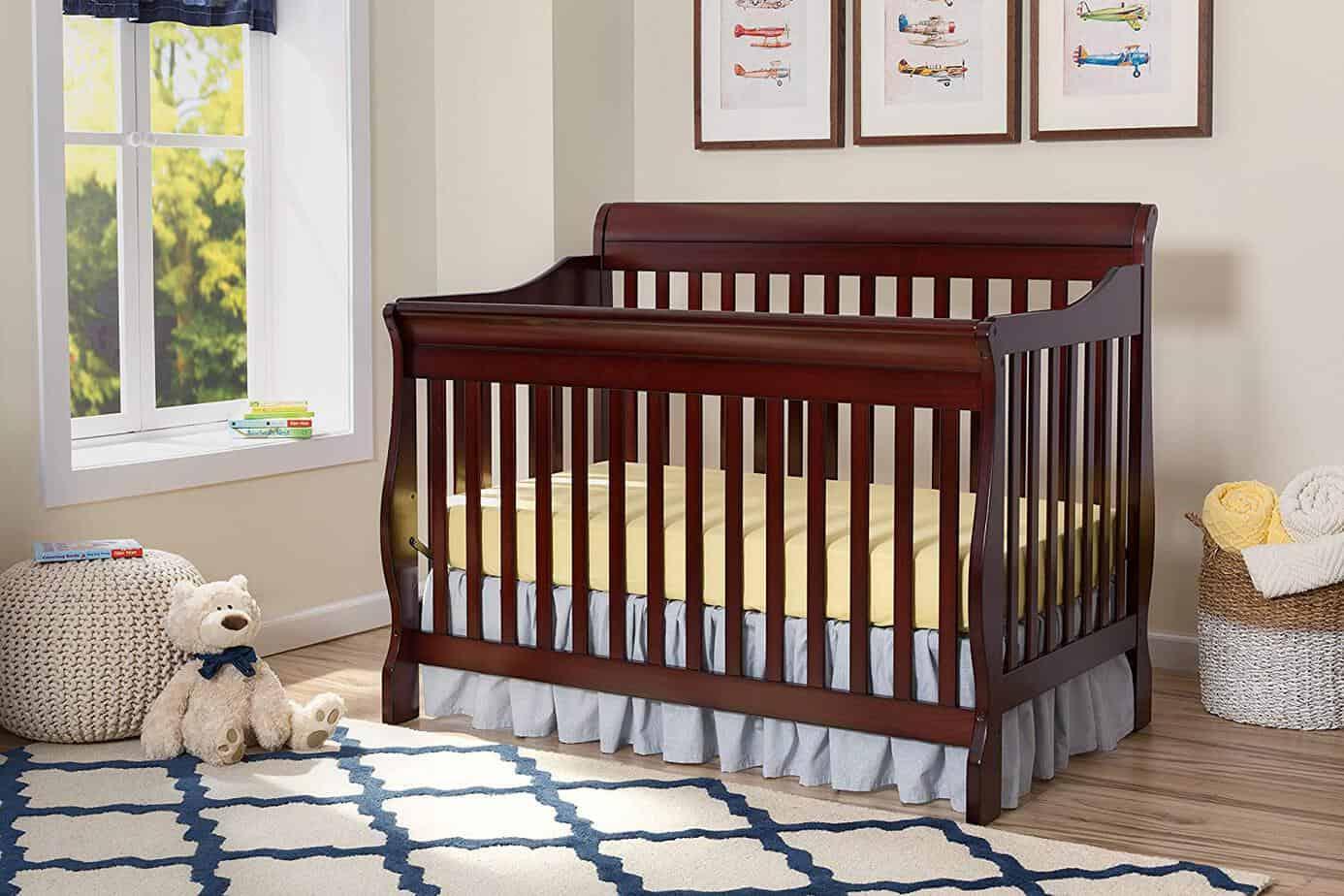 Delta Children Canton 4-In-1 Convertible Crib