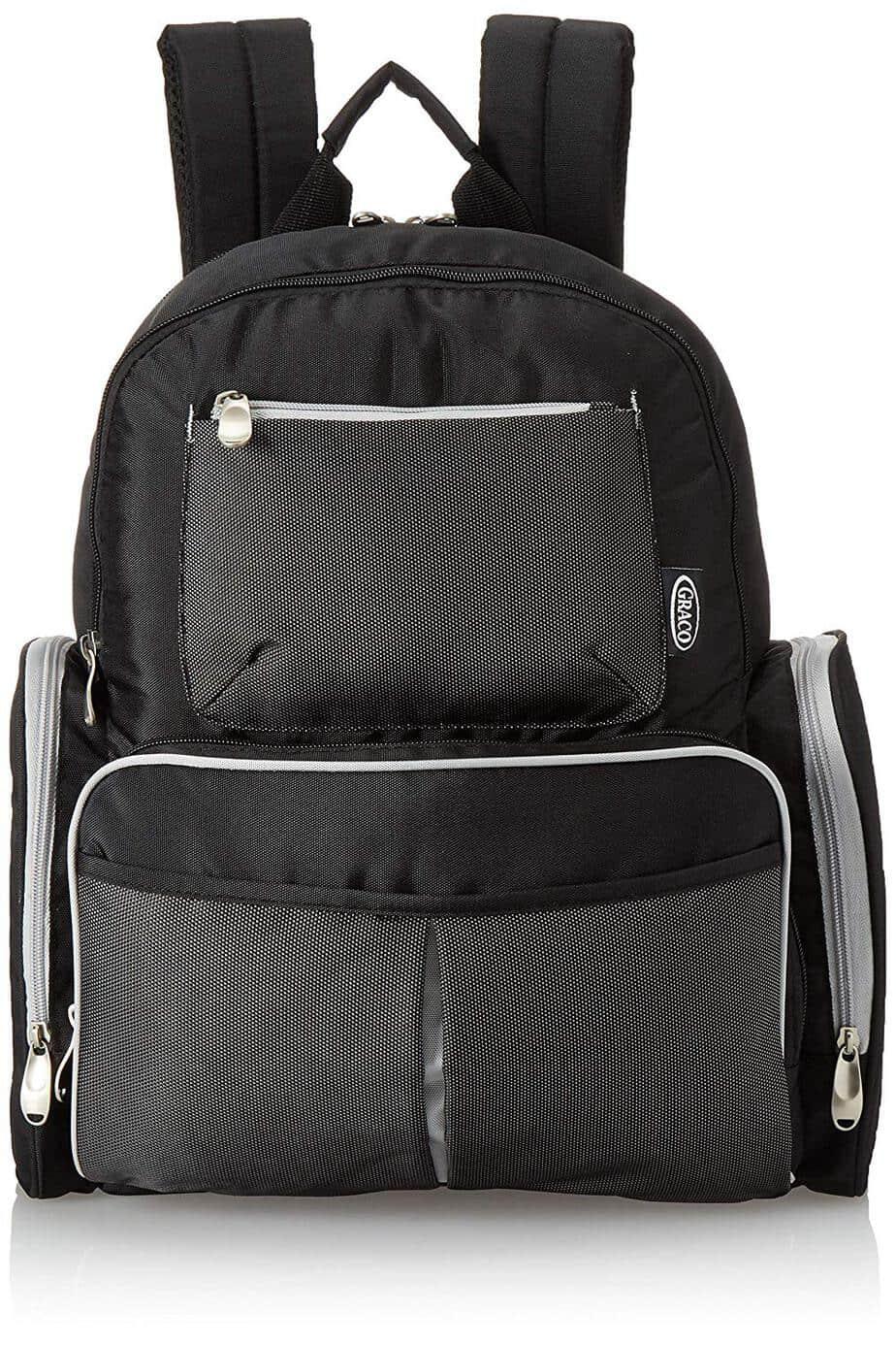 Graco Gotham Smart Organizer Baby Diaper Bag Backpack