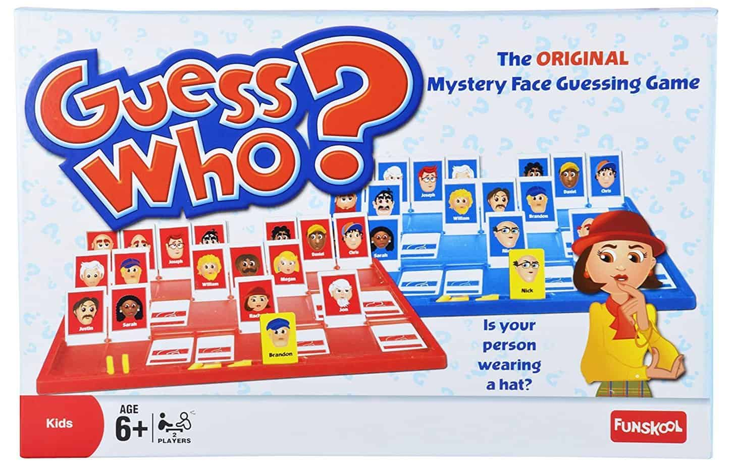 """Guess Who?"" is the game kids would love"