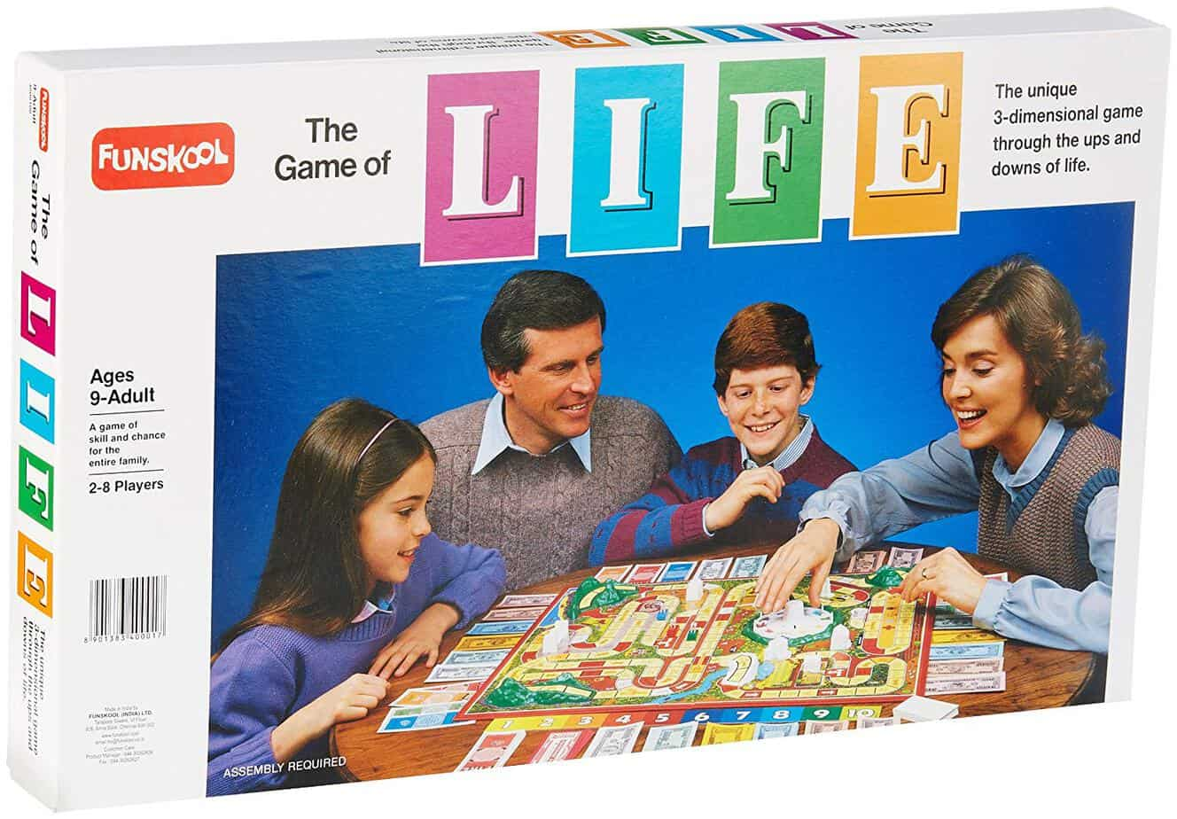 The Game of Life, a game loved for generations