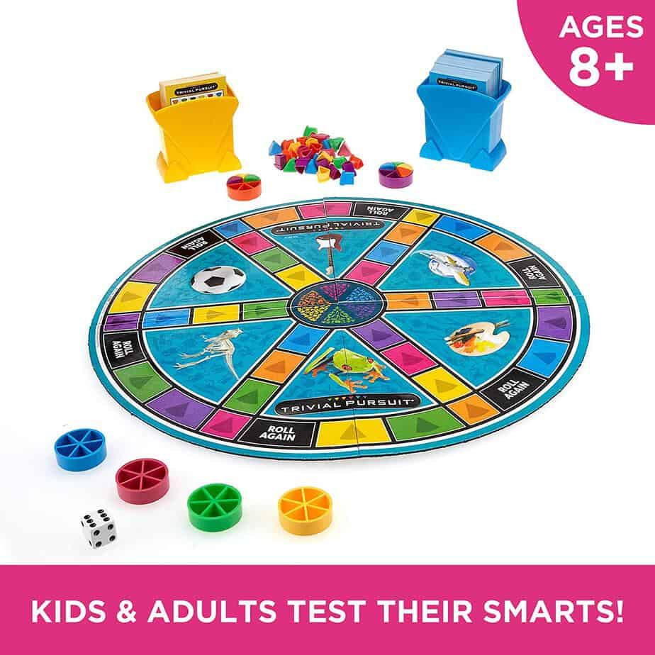 The family edition Trivial Pursuit for you and for all