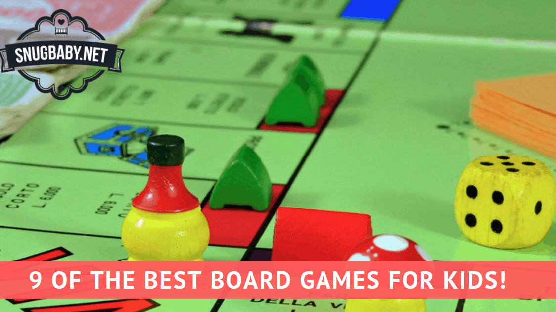 ​9 of the Best Board Games for kids!