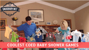Co-ed Baby Shower Games