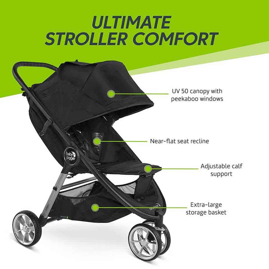 baby jogger city mini 2 features