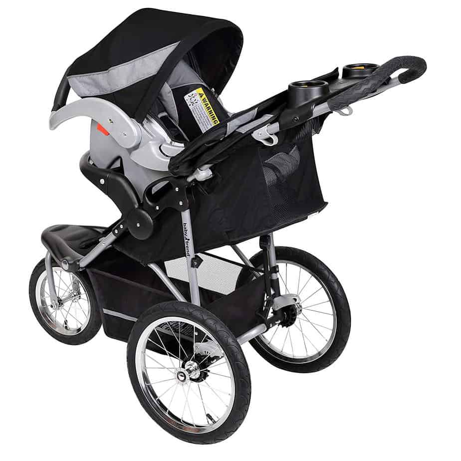 Baby Trend Expedition Jogging Stroller Rear