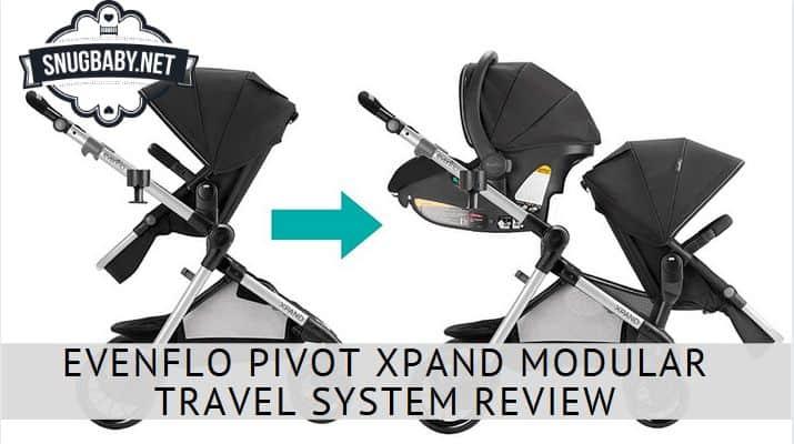 Evenflo Pivot Xpand Modular Travel System Review