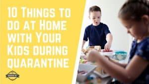 CoronaVirus Quarantine Home Activities