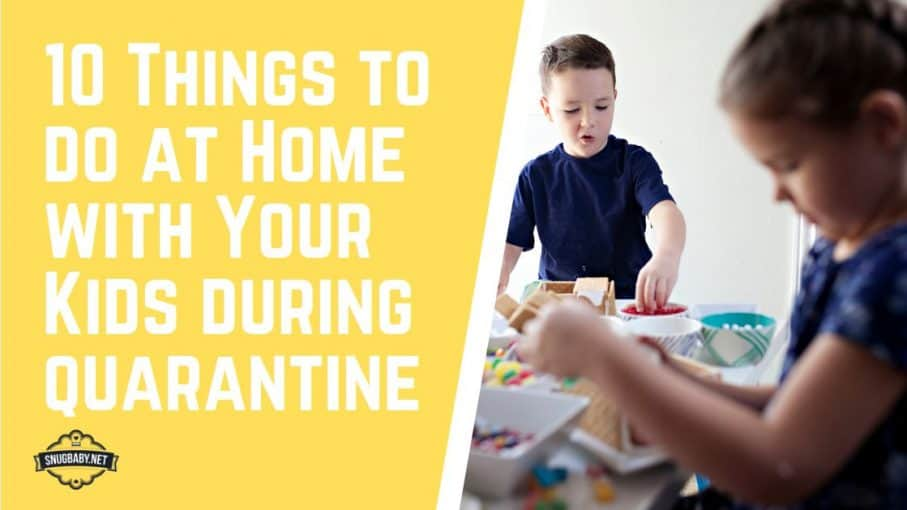 CoronaVirus Quarantine Home Activities