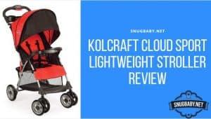 Kolcraft Cloud Sport Lightweight Stroller Review