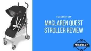 Maclaren Quest Stroller Review