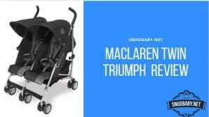 Maclaren twin Triumph Review