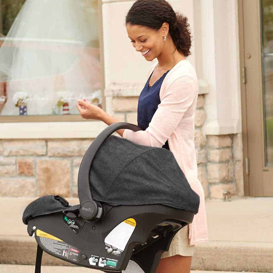 Evenflo Sibby Travel System, cAR sEAT